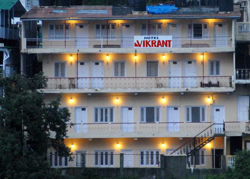 Nainital Hotel Room Price List